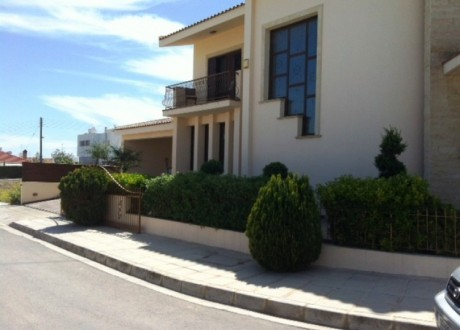 Detached House For Rent in Kallithea, Nicosia - HR-64813