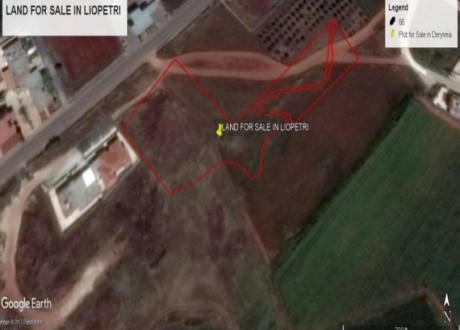 Residential Land  For Sale in Liopetri, Famagusta - L-71954