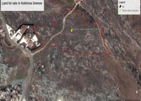 Agricultural Land For Sale in Kokkinogremos, Famagusta - L-71953