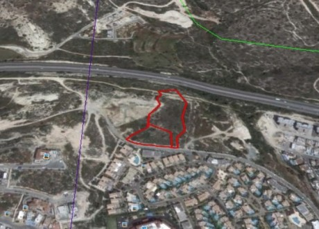 Residential Land  For Sale in Agios Tychonas, Limassol - L-80410