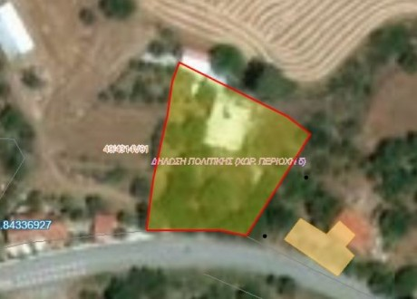 Residential Land  For Sale in Lageia, Larnaca - L-95093