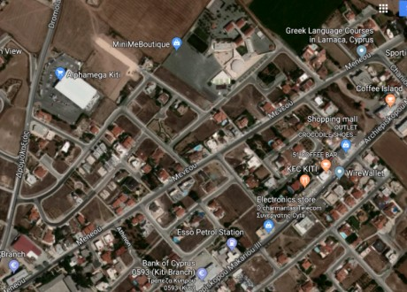 Residential Land  For Sale in Kiti, Larnaca - P-99153