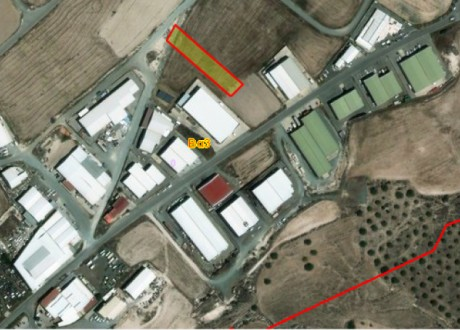 Industrial Land For Sale in Alampra, Nicosia - L-99919