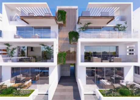 Whole Floor Apartment  For Sale in Mesogi, Paphos - A-101913