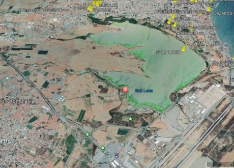 Residential Land  For Sale in Dromolaxia, Larnaca - P-102169