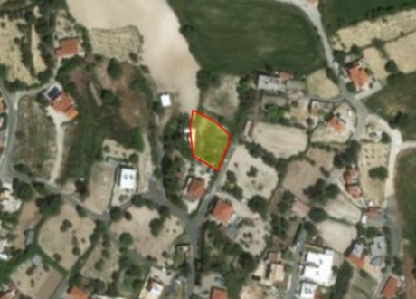Residential Land  For Sale in Tsada, Paphos - L-102173