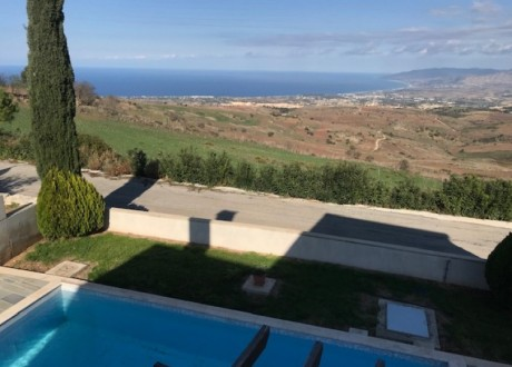 Detached House For Rent in Drousia, Paphos - HR-102610