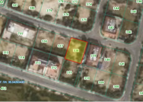 Residential Land  For Sale in Paralimni, Famagusta - P-103125