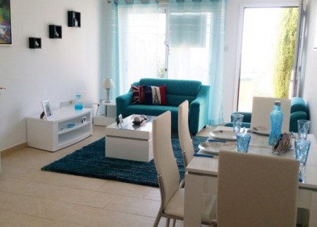 Ground Floor Apartment  For Sale in Mesa Chorio, Paphos - A-103434