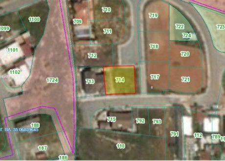 Residential Land  For Sale in Derynia, Famagusta - P-103929