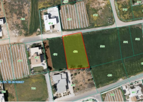 Residential Land  For Sale in Derynia, Famagusta - L-105071