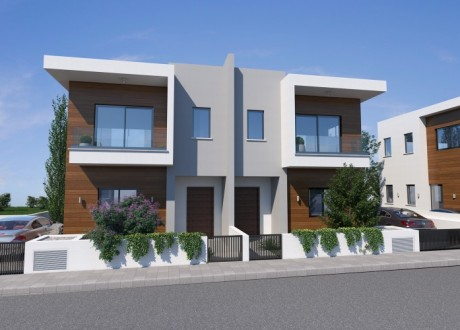 Semi Detached House For Sale in Potamos Germasogeias, Limassol - H-105176