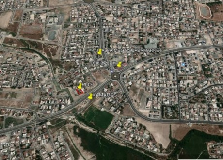 Residential Land  For Sale in Cineplex Area, Larnaca - P-98340