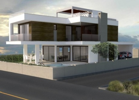 Detached House For Sale in Agios Tychon, Limassol - H-100196