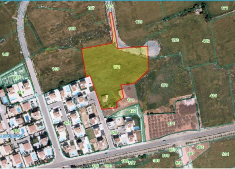 Residential Land  For Sale in Sotira Ammochostou, Famagusta - L-107721