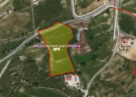 Residential Land  For Sale in Pachna, Limassol - L-97855